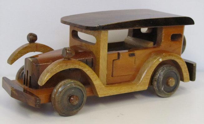 Houten model.