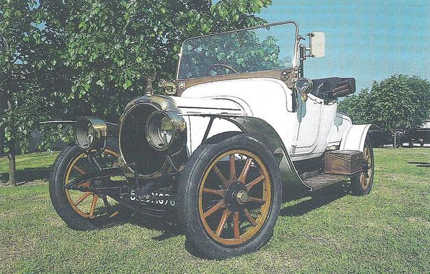 Chenard & Walcker TT uit 1913.