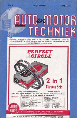Auto en Motor Techniek, een exemplaar uit 1954.