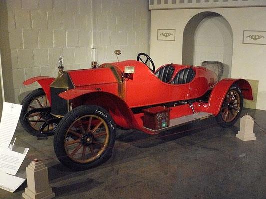 Métallurgique Vanden Plas speedster uit 1911.