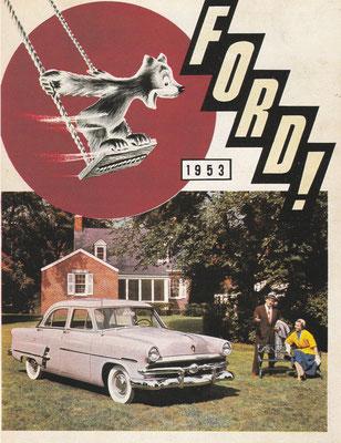 Reclame van Ford uit 1953.