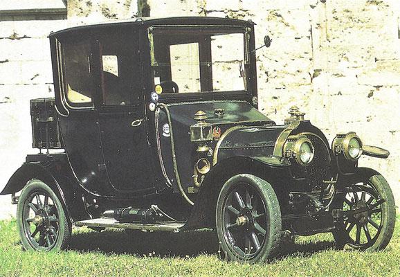 Zédel 12 HP uit 1912.