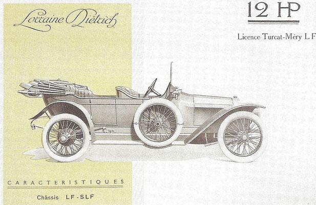 Lorraine Dietrich type LF 12 HP.