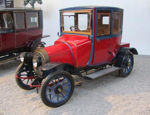 Zedel Coupé Docteur Type C1 uit 1911 (Collection Schlumpf).