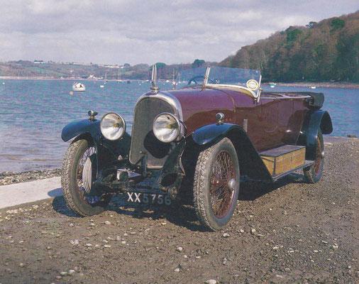 Voisin C3 uit 1924.
