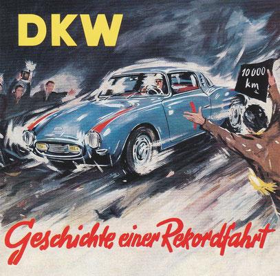 In 1955 werden met de DKW kunststof-sportcoupé 5 snelheidsrecords behaald op het Autodromo Monza.