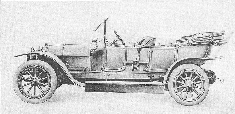 La Buire 9500 uit 1913/1914.