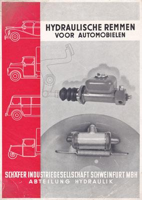 Folder Schaefer hydraulische remmen.