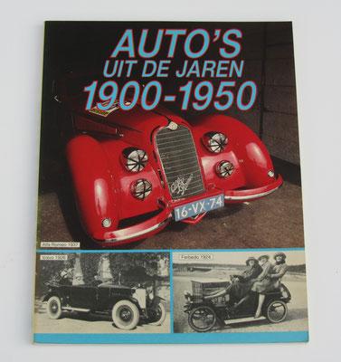 Auto's uit de jaren 1900-1950. Peter Haventon, 1986.