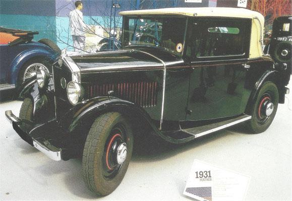 Mathis Type PY (1930-1932).
