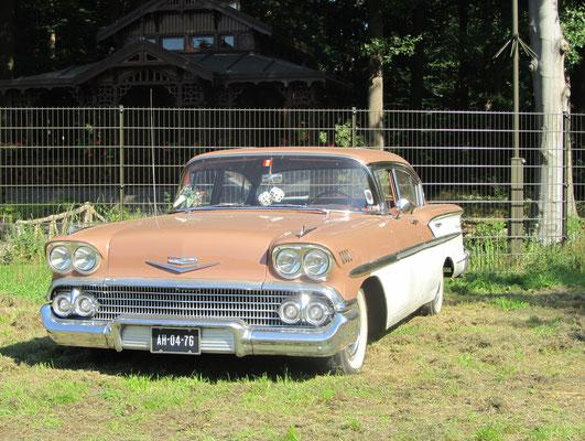 Chevrolet BelAir uit 1958. (Concours d'Elegance Paleis Soestdijk 2019)