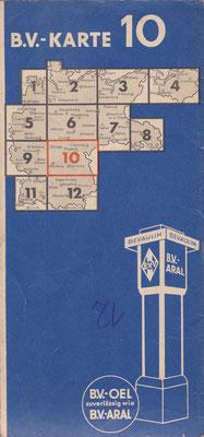 B.V.-Aral, B.V.-Karte (vóór 1940).