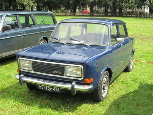 Simca 1005 GLS uit 1978. (Concours d'Élégance 2016 Paleis Het Loo)