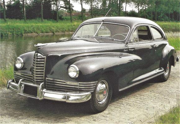Packard Clipper Eight, gebouwd van 1946 tot 1948.