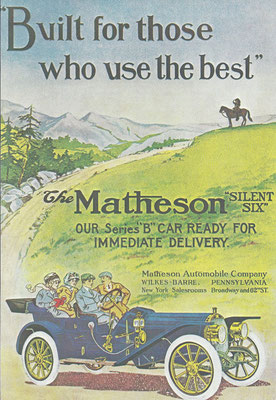 Advertentie Matheson.