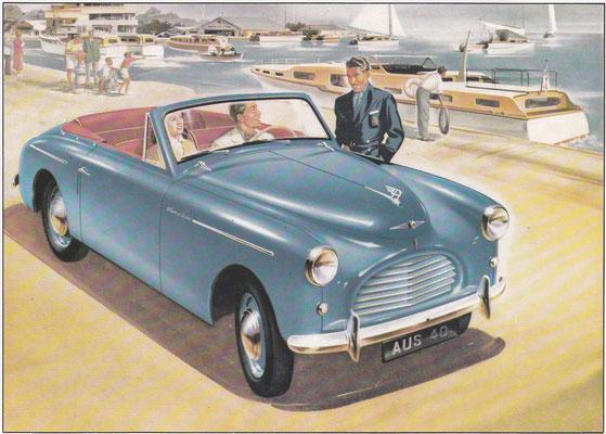 Austin A40 Sports.