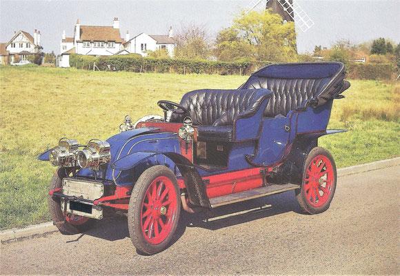 C.G.V. 25 HP uit 1904.