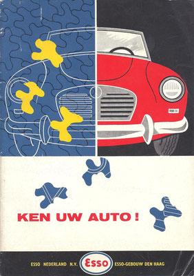 Ken uw auto. Door Piet Olyslager. Een uitgave van Esso Nederland N.V. Vijfde druk.