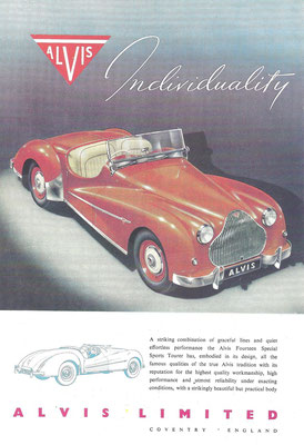 Advertentie Alvis.