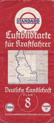 Luftbildkarte für Kraftfahrer, Standard, Deutsche Landschaft, Plan 8 (vóór 1940).