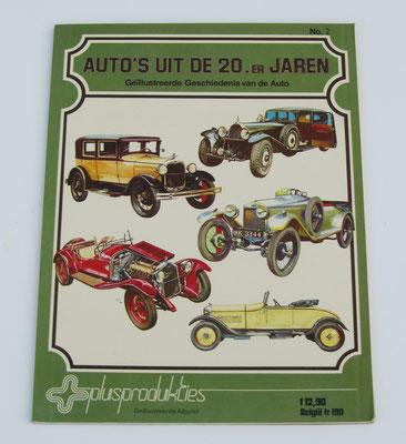 Auto's uit de 20er jaren. Cyril Postumus, 1977. ISBN 9063090102. Dit boek is te koop, prijs € 4,00 email: automobielhistorie@gmail.com