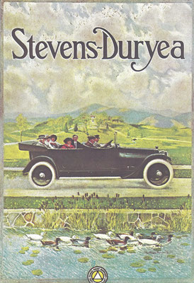 Advertentie Stevens-Duryea.