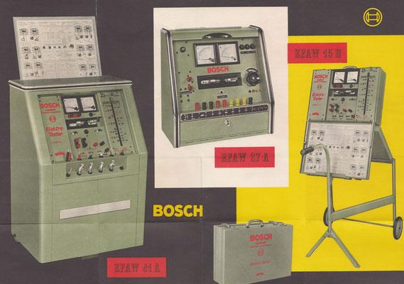 Folder Bosch testapparatuur.