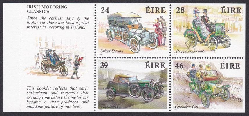 Postzegels Ierland 1989.