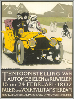 Affiche voor de RAI 1907.