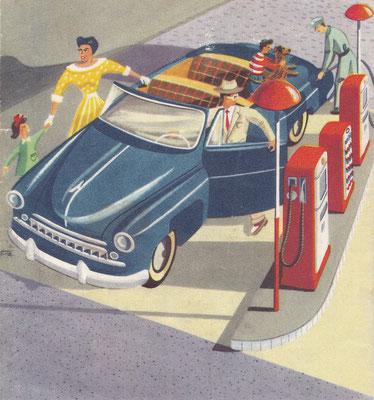 Esso Standard, Zwitserland, 1953.
