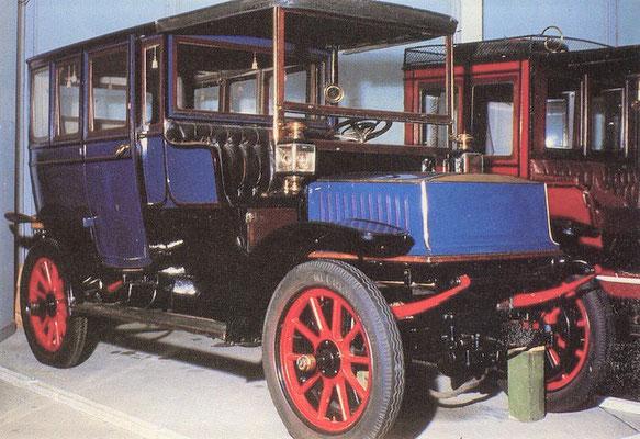 Krieger 4 elektrische auto (1904-1909).