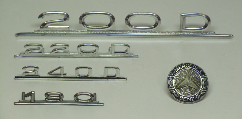 Mercedes-Benz emblemen.