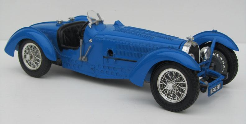 Bugatti type 59, 1934, Burago, schaal 1:18.