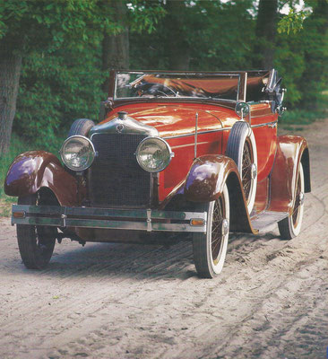 Minerva met een 2-zits carrosserie van Erdmann & Rossi.