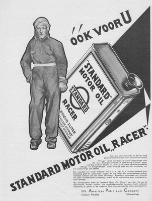 Advertentie Standard Oil, 1932