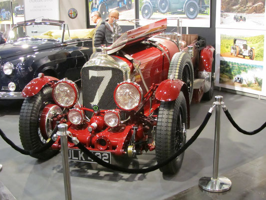 Een Bentley op de Techno Classica in Essen.