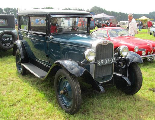 Een Chevrolet A48 uit 1928 op de oldtimerdag Saasveld 2016.