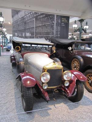Minerva Torpedo Type AC uit 1926 (Collection Schlumpf).