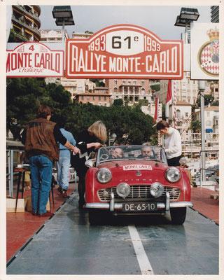 Rally Monte-Carlo 1993.