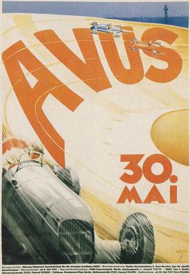 Het Avus-circuit, net buiten Berlijn, werd in 1921 geopend.