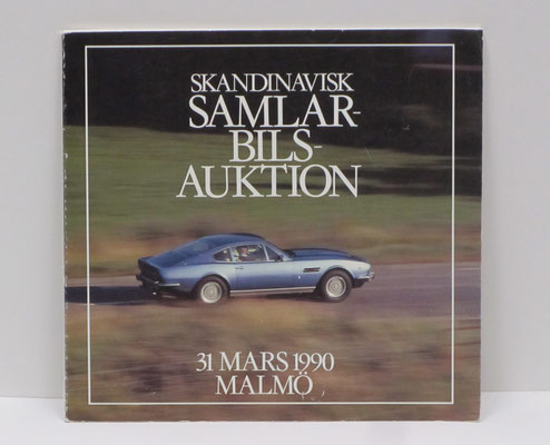 Catalogus veiling in Malmö, Zweden, 1990.