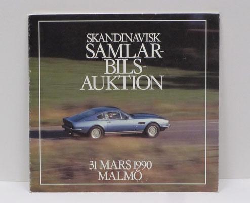 Veiling catalogus uit 1990, Malmö, Zweden.