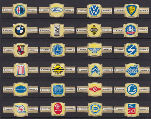 Hudson, serie auto-emblemen.