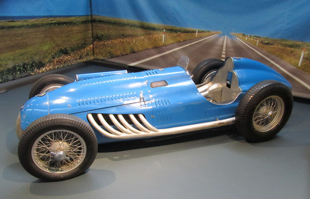 Talbot Monoplace GP 26C uit 1948 (Collection Schlumpf).