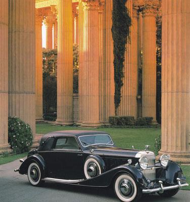 Hispano-Suiza J12 Faux Convertible uit 1930 met een 9,25 liter V-12 motor. (foto: Lucinda Lewis)