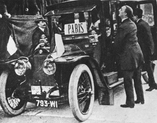 De eerste Rally van Monte Carlo in 1911 werd gewonnen door Henri Rougiers met een Turcat-Méry 18 HP.