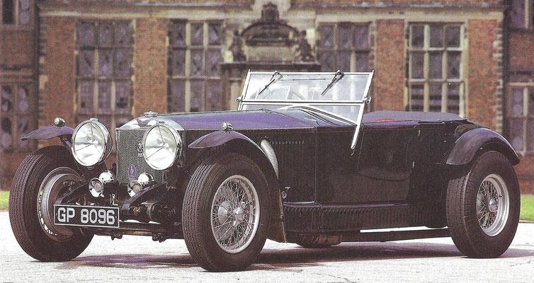 Isotta Frachini Type 8 uit 1928 met een koetswerk van Fleetwood, gebouwd voor acteur Rudolf Valentino.