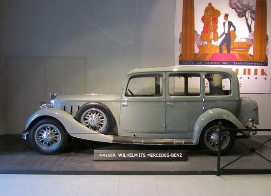 Mercedes-Benz Nürburg 500 uit 1933, ex Kaiser Wilhelm II. (Louwman Museum in Den Haag)