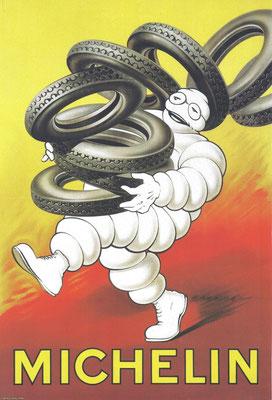 Een affiche van Michelin uit 1927.