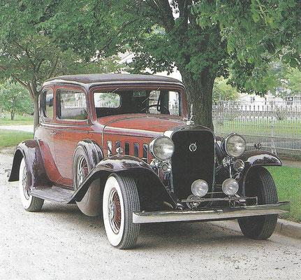Een Cadillac 355B uit 1932.